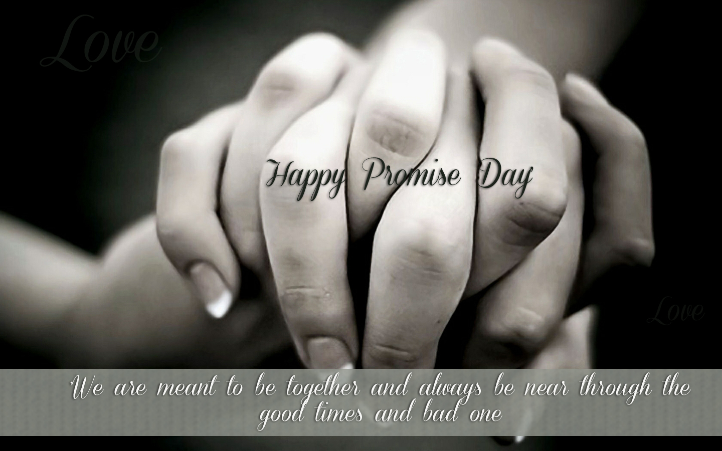 Promise Day 2018 HD Wallpaper Free Download