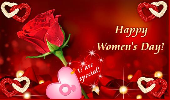 Women's Day 2017 Greeting Card Free Download
