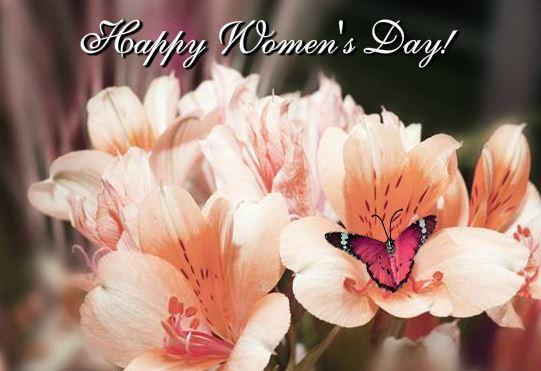 Women's Day 2018 Inspirational Wishing Card