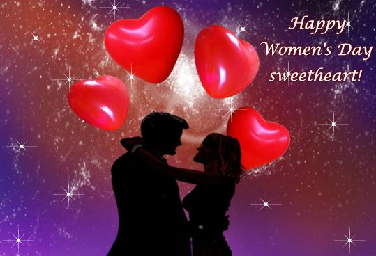 Women's Day 2018 Lovely Wishes Card Free Download