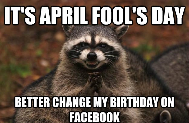 April Fool's Day 2017 Funny Image