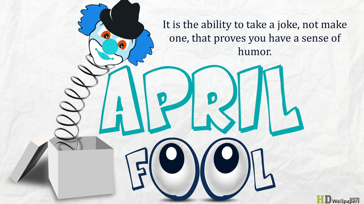 April Fool's Wallpaper free download