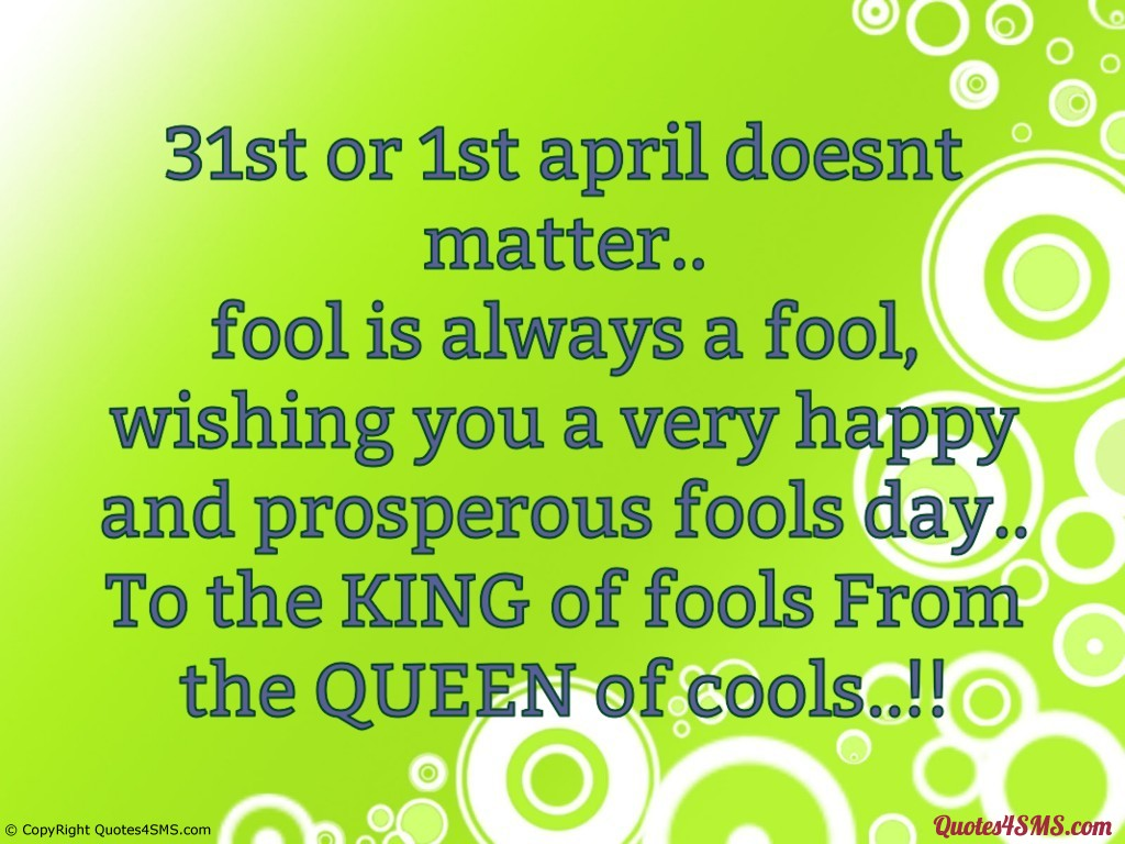 Happy April Fool's Day 2017 Funny Quotes