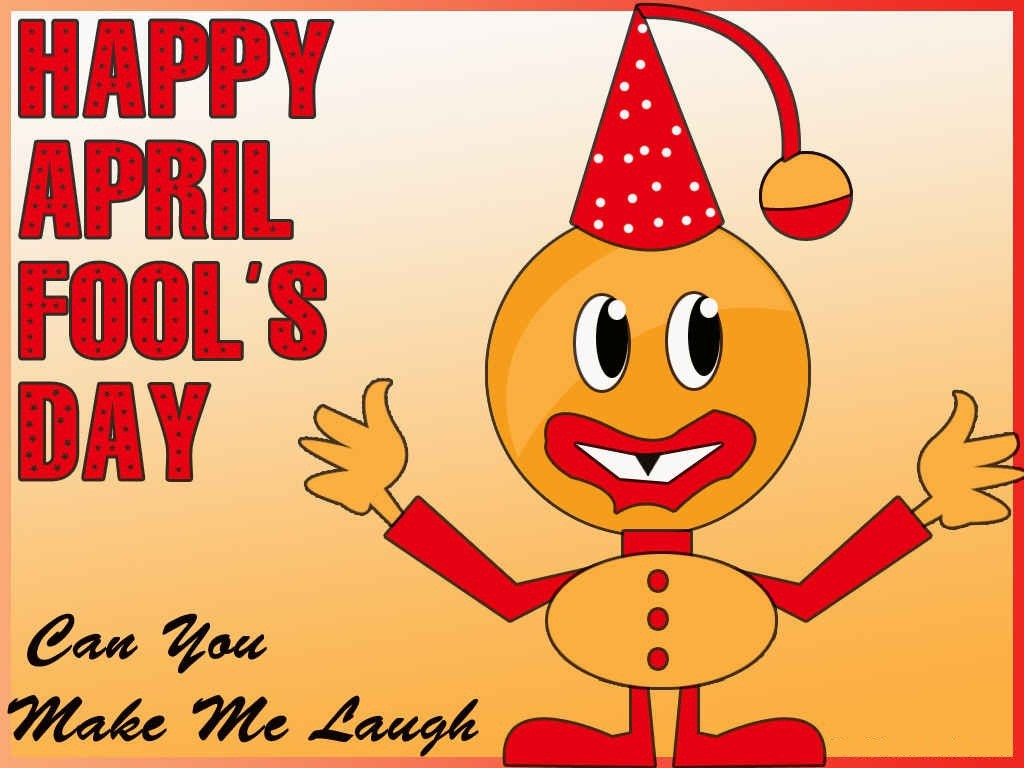 Happy April Fool's Day Cartoon Image 2017