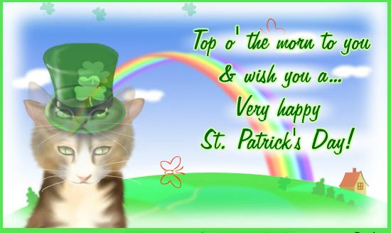 Happy St. Patrick's Day 2017 Greeting Cards & Free Ecard