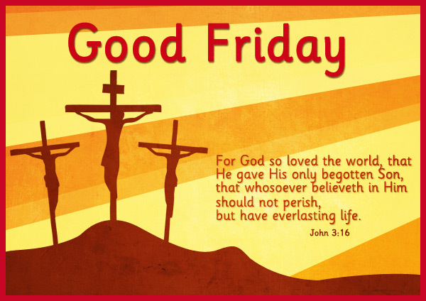 Good Friday 2017 Free Ecard