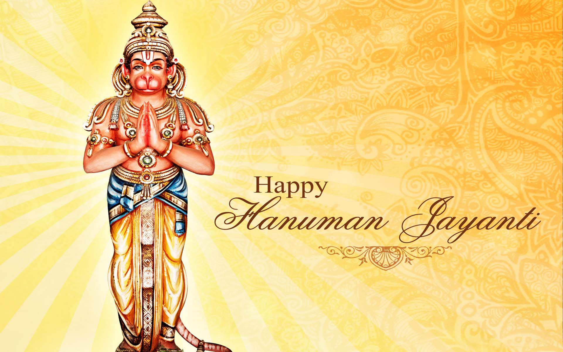 Hanuman Jayanti 2017 HD Wallpaper