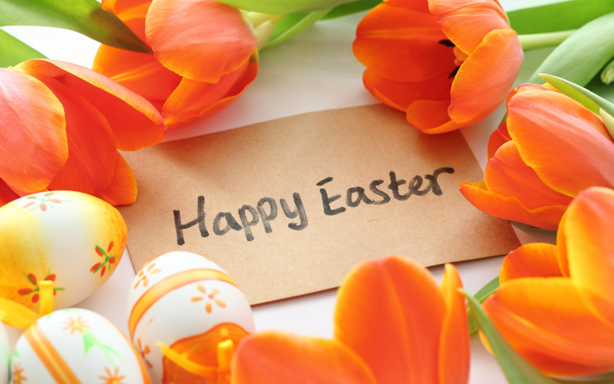 Happy Easter 2018 HD Wallpaper