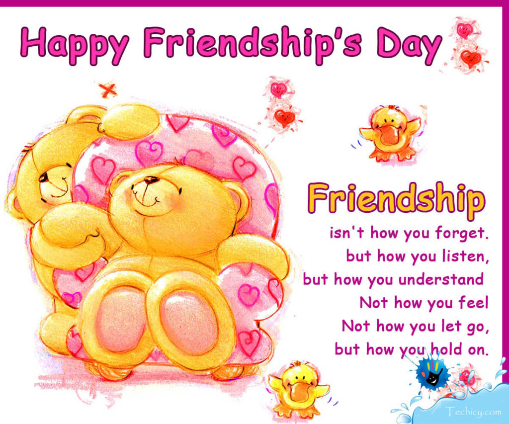 Friendship Day Greeting Card