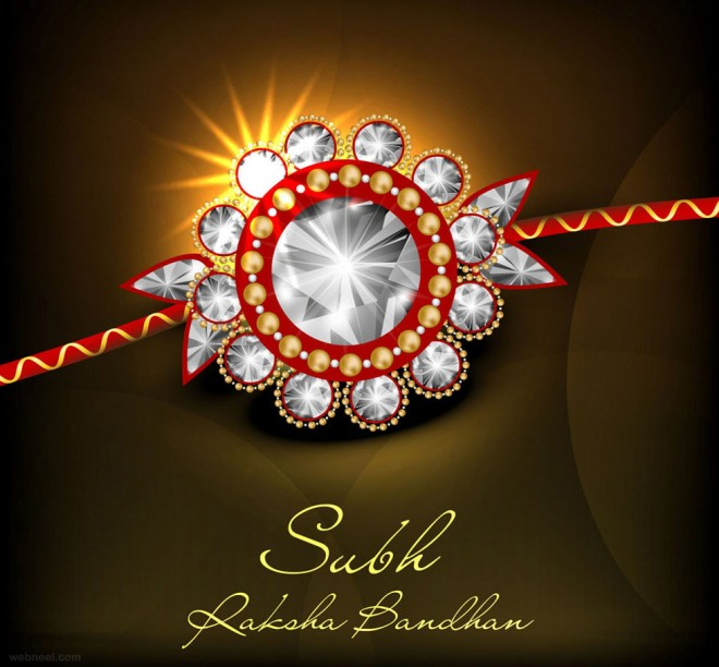 Happy Raksha Bandhan 2018 Image for Whatsapp