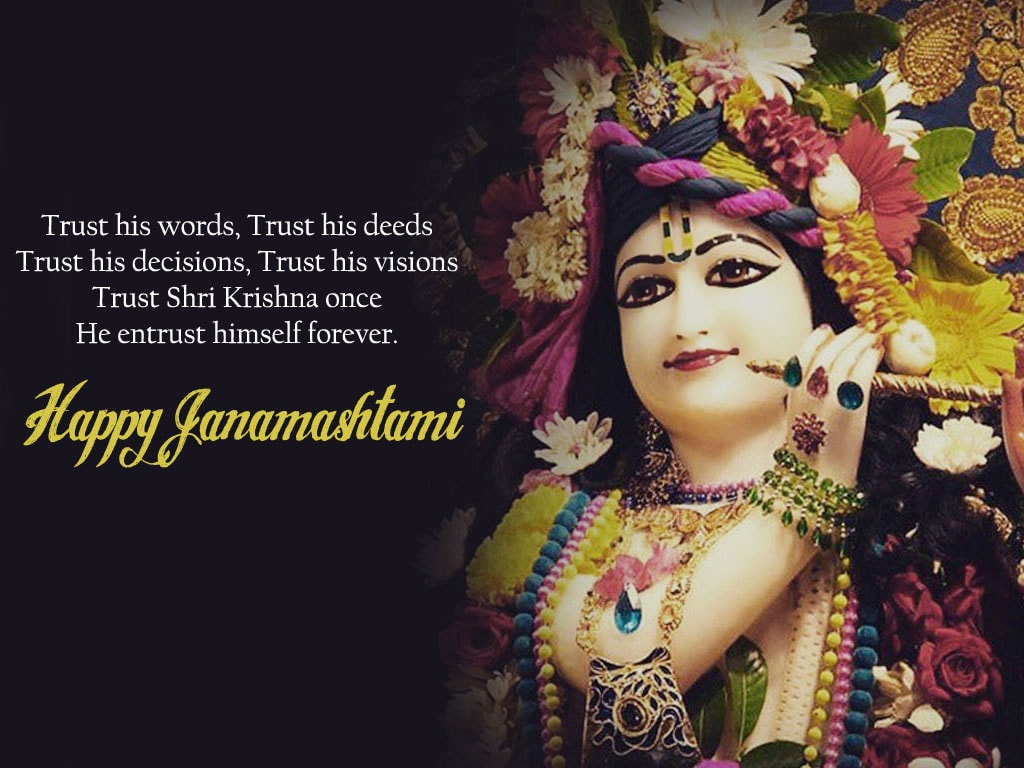 Happy Krishna Janmashtami Hd Wallpapers Images With Best Wishes