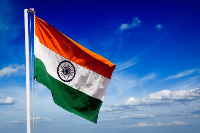 WhatsApp DP Indian Flag Image
