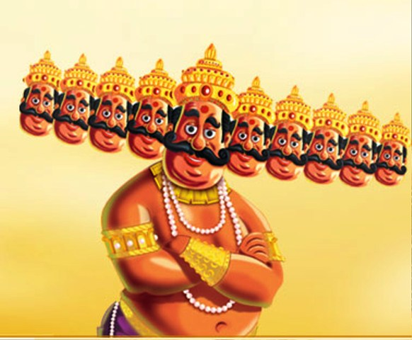 Happy Dussehra Funny Cartoon Images