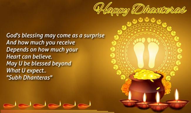 Dhantrayodashi - Happy Dhanteras WhatsApp Status
