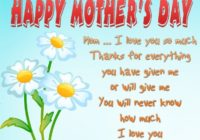 Mothers Day Status & Mother's Day Whatsapp Video