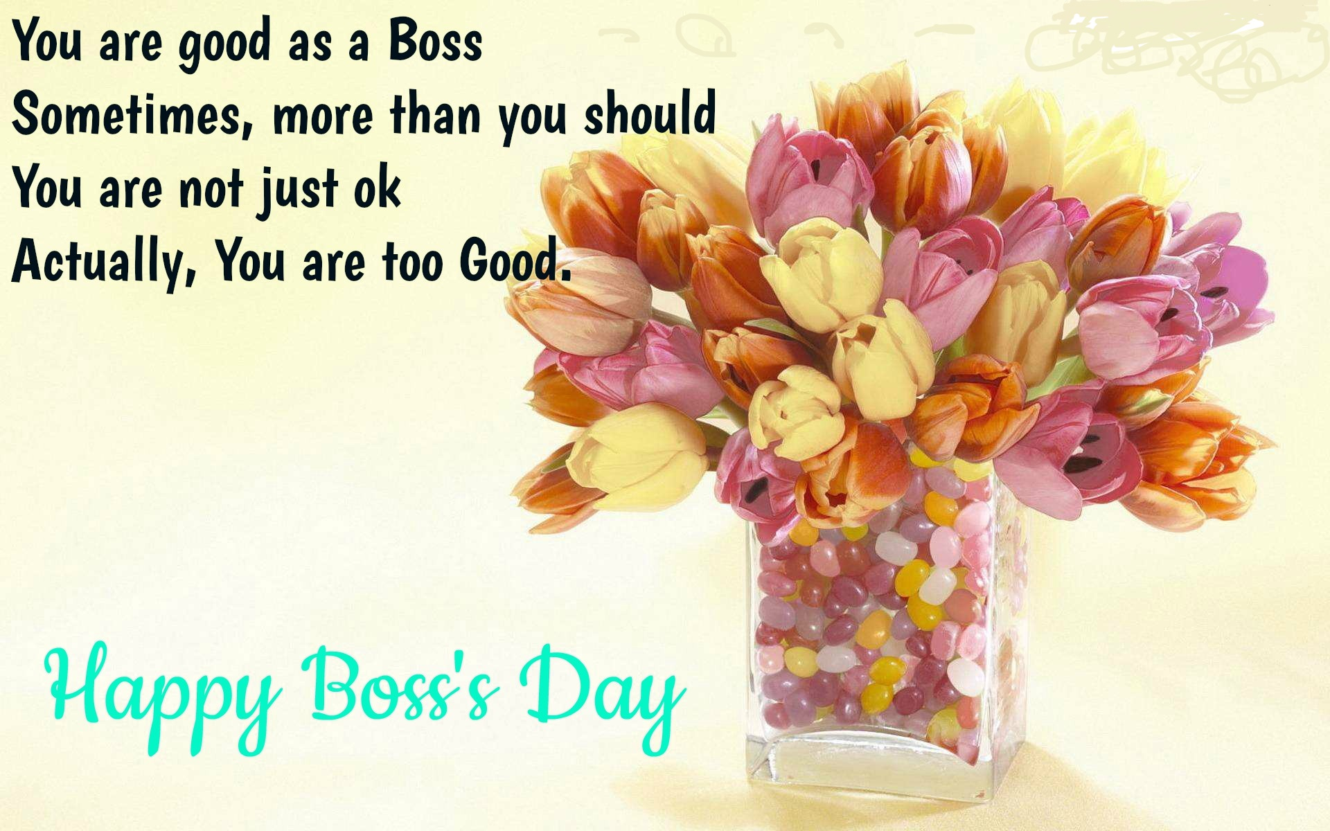 Happy Boss Day Wishes Greeting Cards