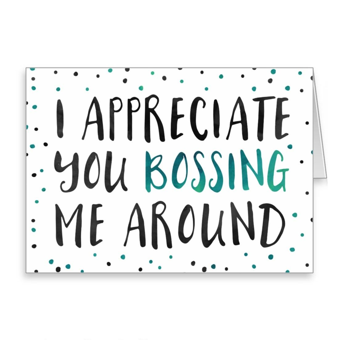Happy Boss's Day Greeting Card Free