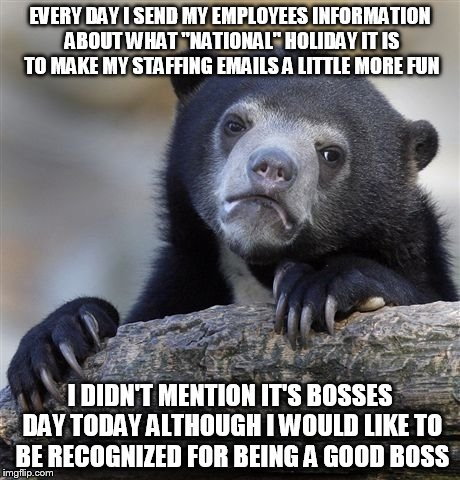 national bosses day meme