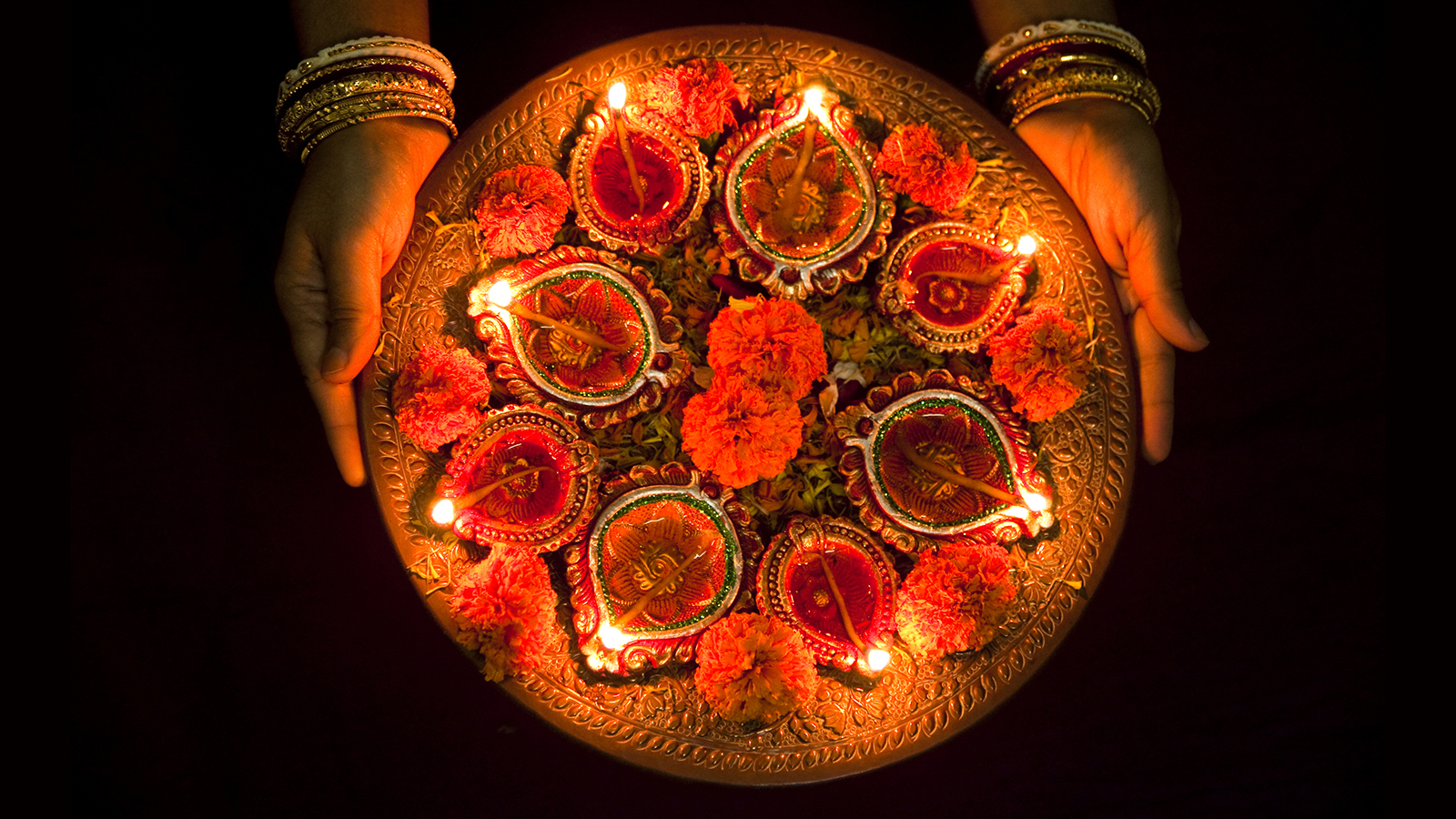 Beautiful Indian Deepavali Festival Image